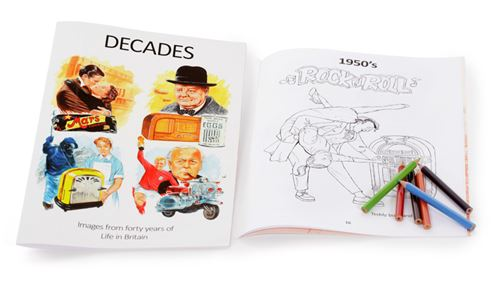 Picture of Reminiscence Picture Book - Decades