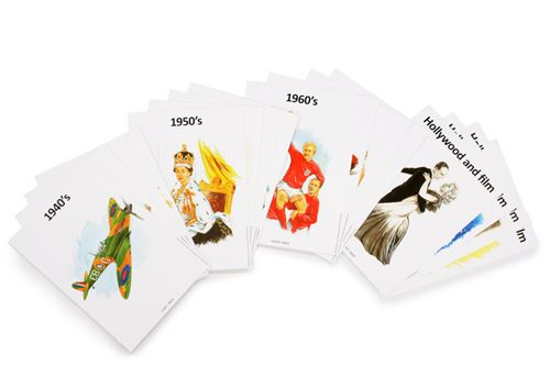 Picture of Reminiscence Conversation Cards - Decades