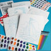 Picture of Watercolour Paint by Numbers Kit (Makes 36)