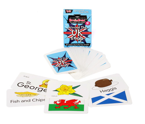 Picture of Around the UK Snap Card Game