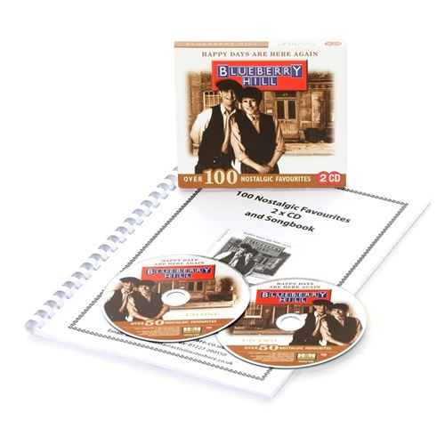 Picture of Happy Days Are Here Again 2 x CD + Songbook