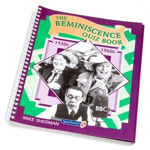 Picture of Reminiscence Quiz Book