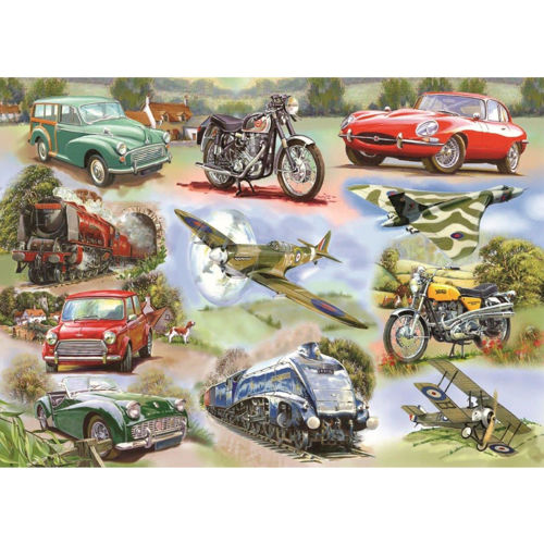 Picture of 250 Large Piece Puzzle - Simply the Best