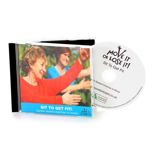 Picture of Sit To get Fit CD - simple seated exercises to music