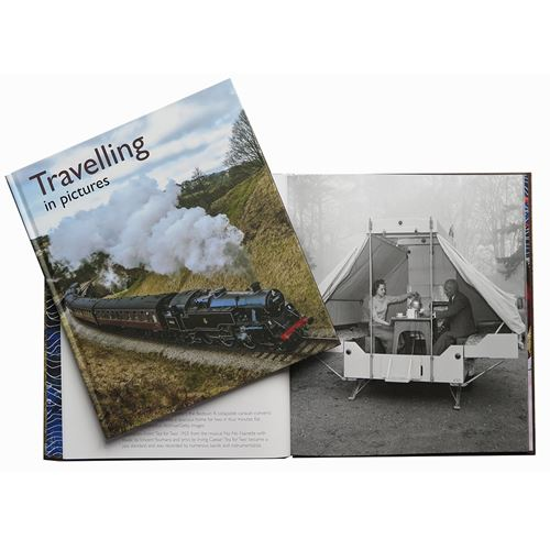 Picture of Reminiscence Pictures To Share Book - Travelling