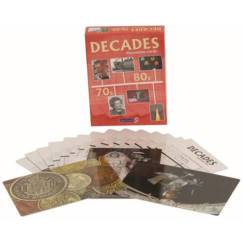Picture of Decades Discussion Cards 70s and 80s