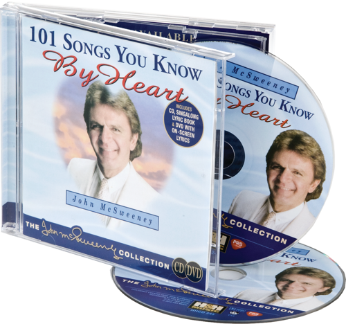 Picture of 101 Songs You Know By Heart -  Karaoke DVD + CD