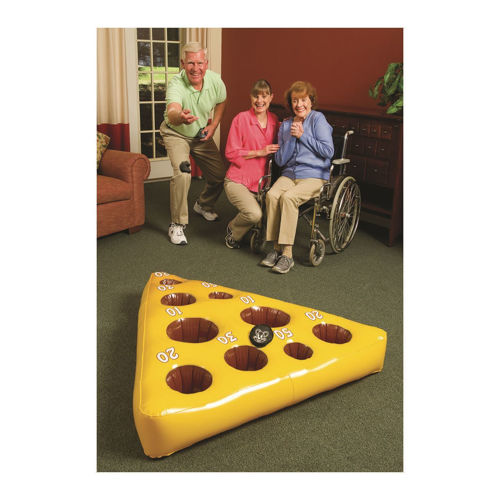 Picture of Inflatable Cheese and Mouse Toss Game