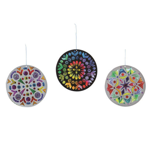 Picture of Colour a Sundial Lightcatcher (pack of 24)