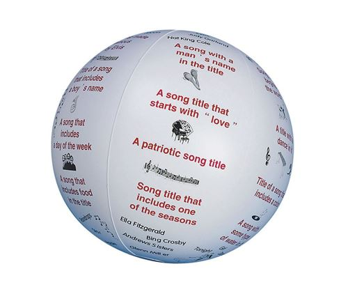 Picture of Toss and Talk Ball - Name a Song