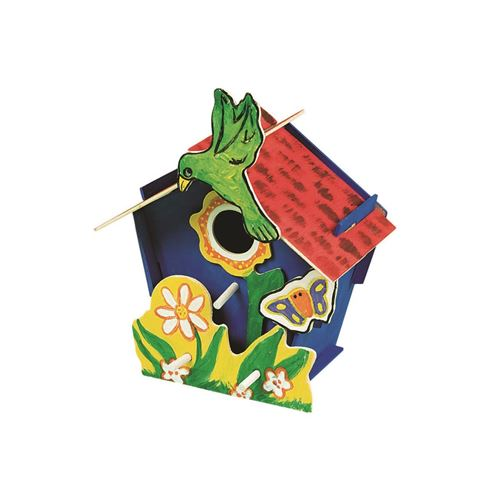 Picture of Wooden Birdhouse Kits (12 pack)