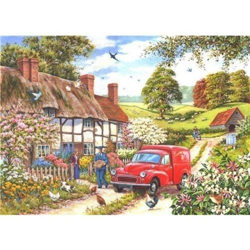 Picture of 250 Large Piece Puzzle - Daily Delivery