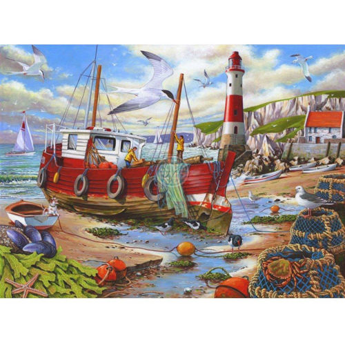Picture of 250 Large Piece Puzzle - High and Dry