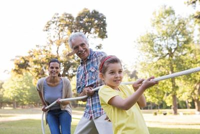 Outdoor Fun - Essential for the Elderly