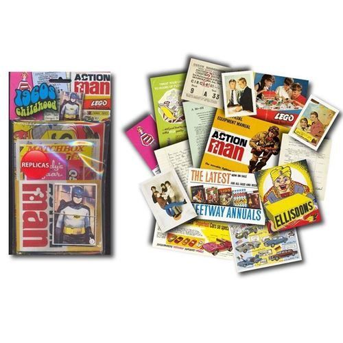 Picture of Memorabilia Pack - 1960s Childhood