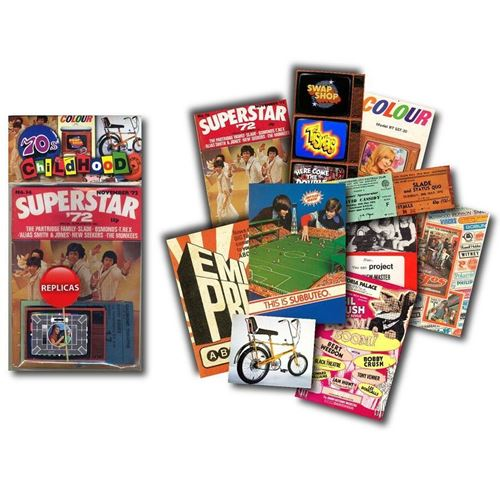 Picture of Memorabilia Pack - 1970s Childhood
