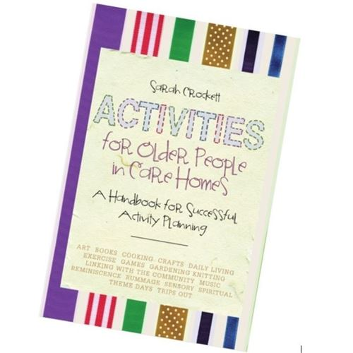 Picture of Activities for Older People in Care Homes - Sarah Crockett