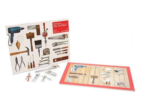 Picture of Creative Scenes 18 pce Magnetic Puzzle - Tool Shed