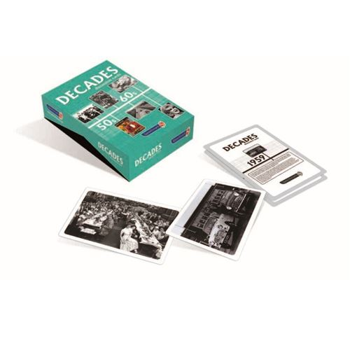 Picture of Decades Discussion Cards 50s and 60s