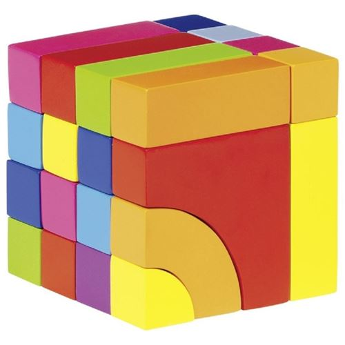 Picture of Colourful Cube Puzzle