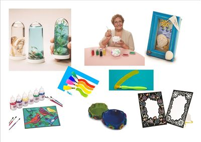 Senior Craft Activities For ALL Abilities