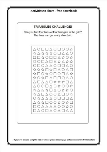 Picture of Triangles Challenge