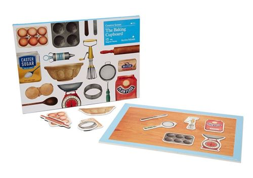 Picture of Creative Scenes 13 pce Magnetic Puzzle - The Baking Cupboard