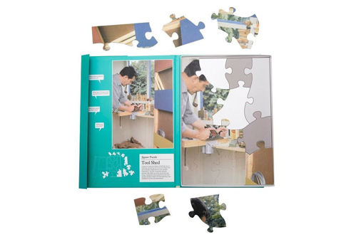 Picture of 13 Large Piece Plastic Puzzle - The Tool Shed