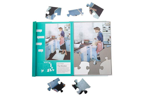Activities to Share - 13 Large Piece Puzzle In the Kitchen