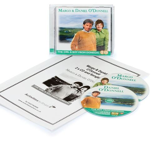 Picture of Margo & Daniel O'Donnell 2 x CD & Songbook