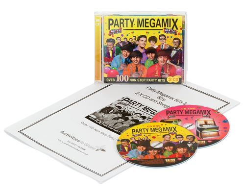 Picture of Party Megamix 50s/60s 2 x CD & SongbookSet
