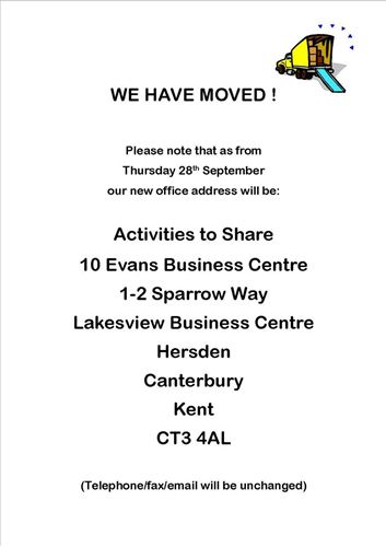 Picture of WE HAVE MOVED!!