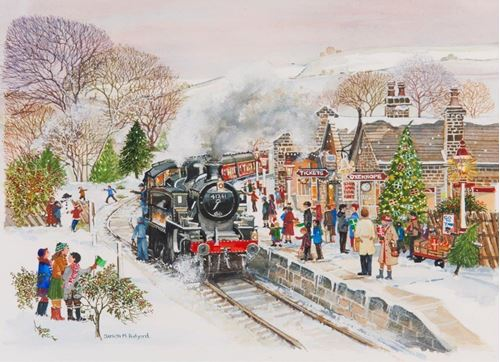 Picture of 250 Large Piece Puzzle - Steaming Along