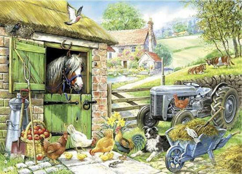 Picture of 250 Large Piece Puzzle - Down on the Farm