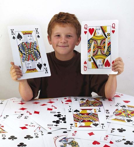 Picture of Giant Playing Cards