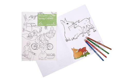 Picture of Colouring Book - Spring