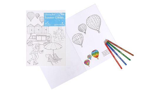 Picture of Colouring Book - Summer