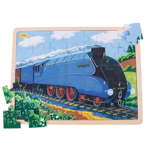 Picture of 35 Large Piece Wooden Puzzle - Mallard Train