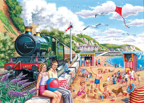 Activities to Share -250 Large Piece Puzzle - Seaside Special