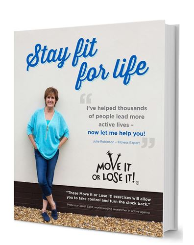 Picture of Stay Fit For Life by Julie Robinson
