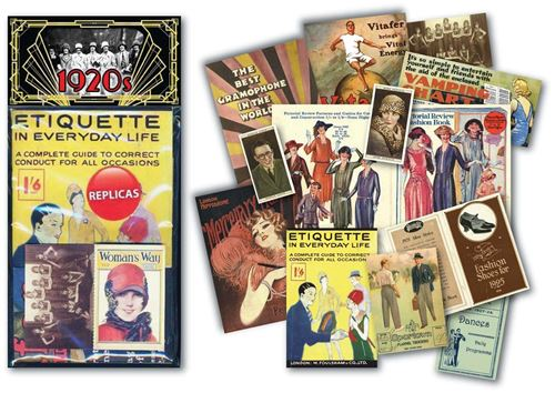 Picture of Memorabilia Pack - Roaring 20s