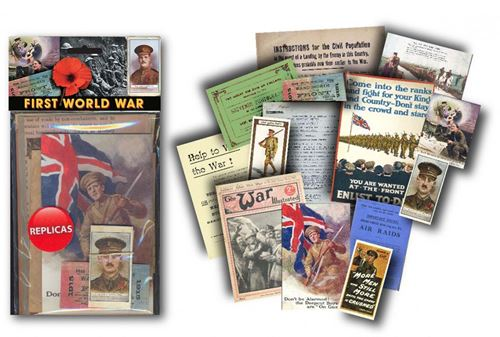 Picture of Memorabilia pack - WW1