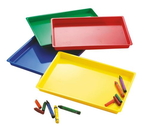 Picture of Coloured Trays (Set of 2)