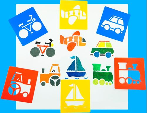 Picture of Transport Washable Stencils (pack of 6)