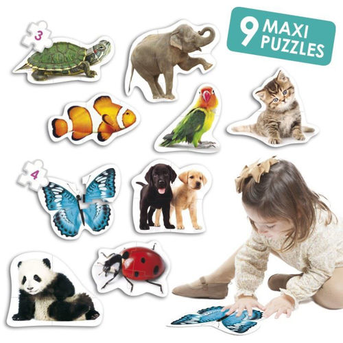 Activities to Share - 3-4 Piece Maxi Puzzles - Animals
