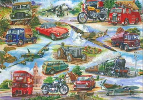 Picture of 500 Large Piece Puzzle - Truly Classic