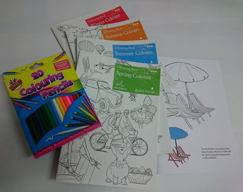 Picture of Colouring Book Set (Pack of 4 Seasons)