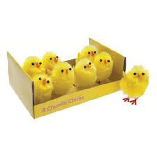 Picture of Yellow Chicks (Pack of 8)