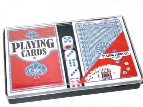 Picture of Playing Card and Dice Set
