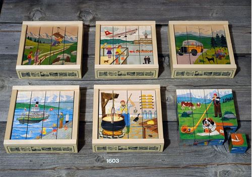 Picture of 16 Piece Wooden Puzzle - Swiss